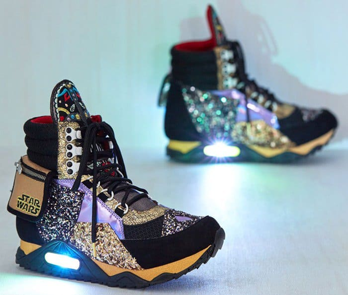 Irregular Choice 'Return of the Jaunty' Sneakers