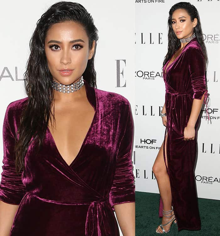 Shay Mitchell at the 23rd Annual Elle Women in Hollywood Awards in Beverly Hills on October 24, 2016
