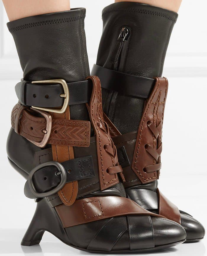 tom-ford-buckled-stretch-leather-ankle-boot