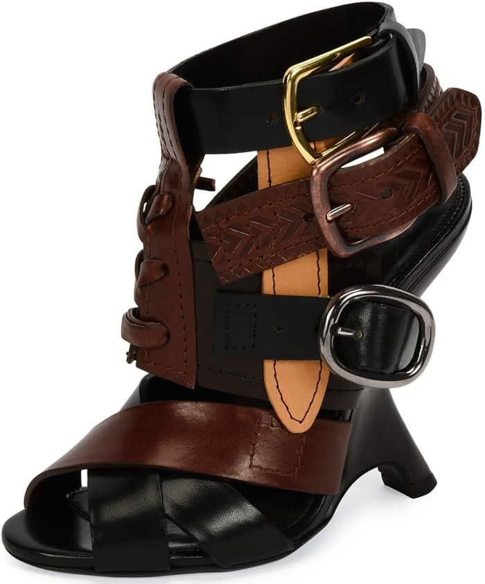 tom-ford-multi-strap-110mm-wedge-brown-black-sandal