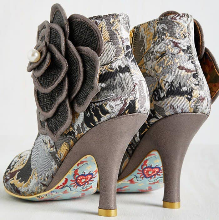 Irregular Choice 'The Frills are Alive' Booties