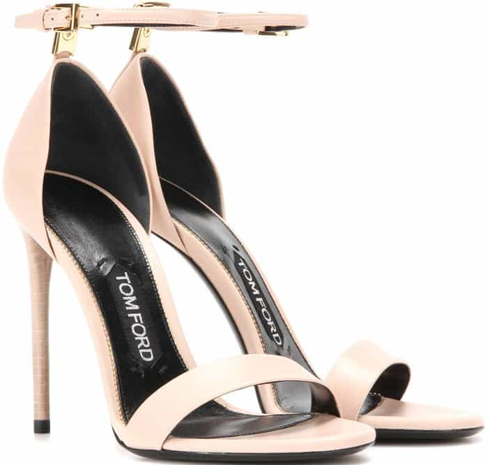 Tom Ford T-Bar Ankle-Strap d'Orsay Sandals