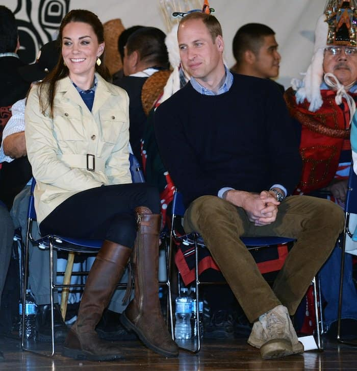 Kate wore her Penelope Chilvers tassel boots with a more casual outfit