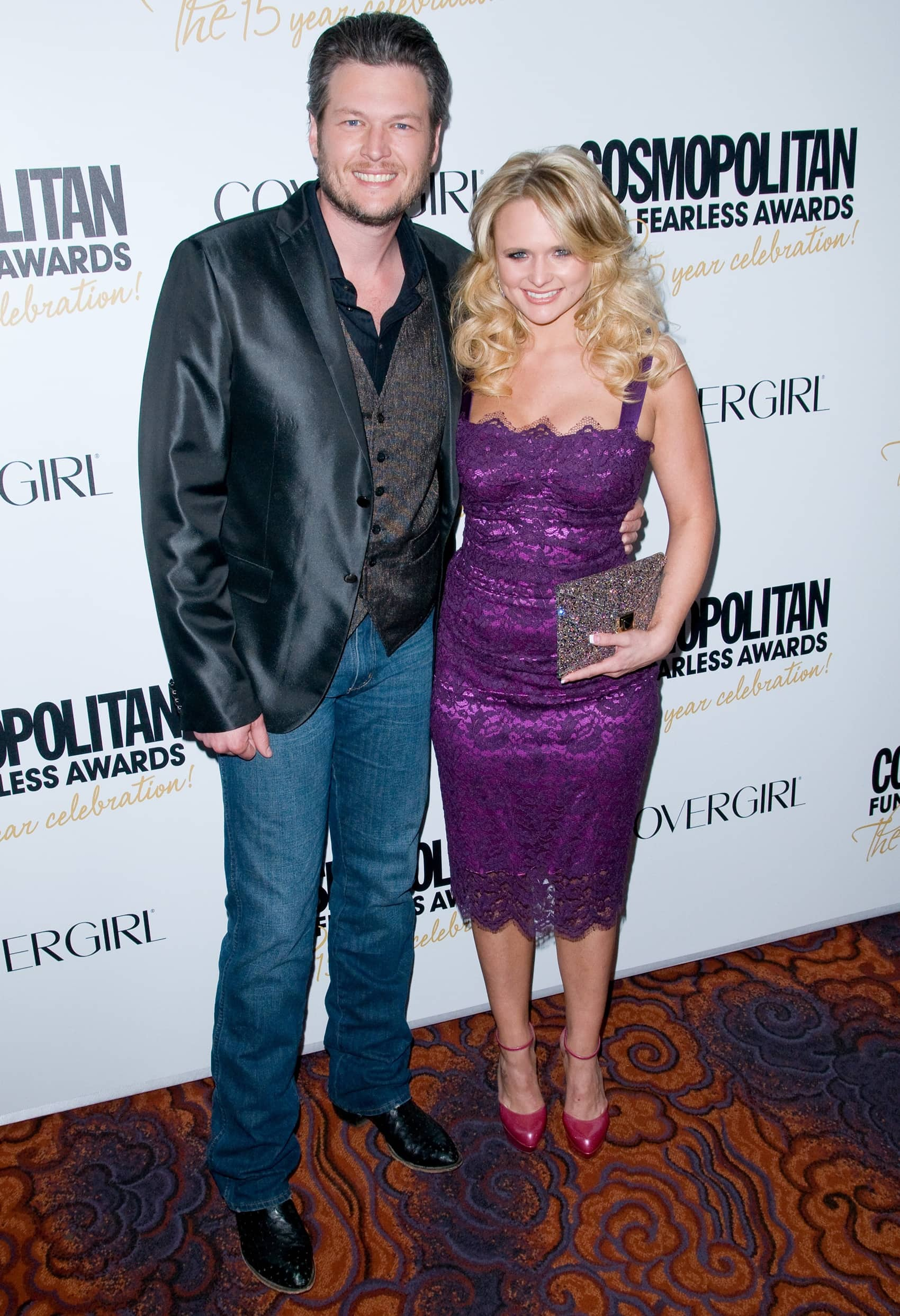 Blake Shelton and Miranda Lambert met during the CMT 100 Greatest Duets special in September 2005
