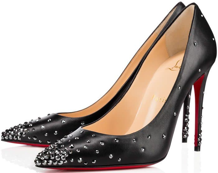 Christian Louboutin 'Degrastrass' Pumps in black