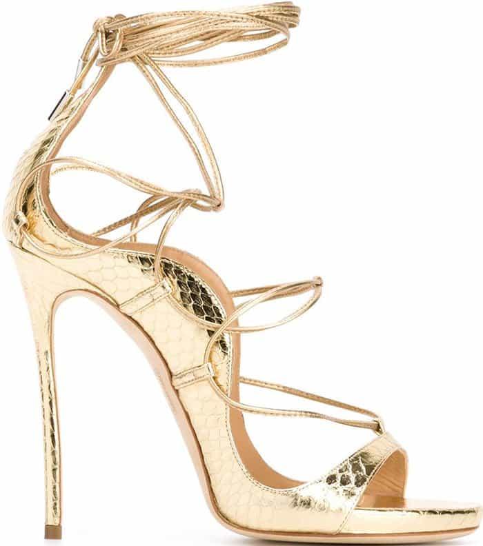 dsquared2-riri-sandals-metallic-gold