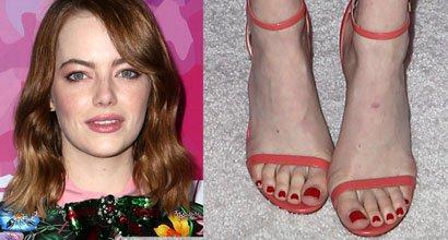 56d5b391ce00d Emma Stone Awards Stylist in Jimmy Choo  Minny  Sandals