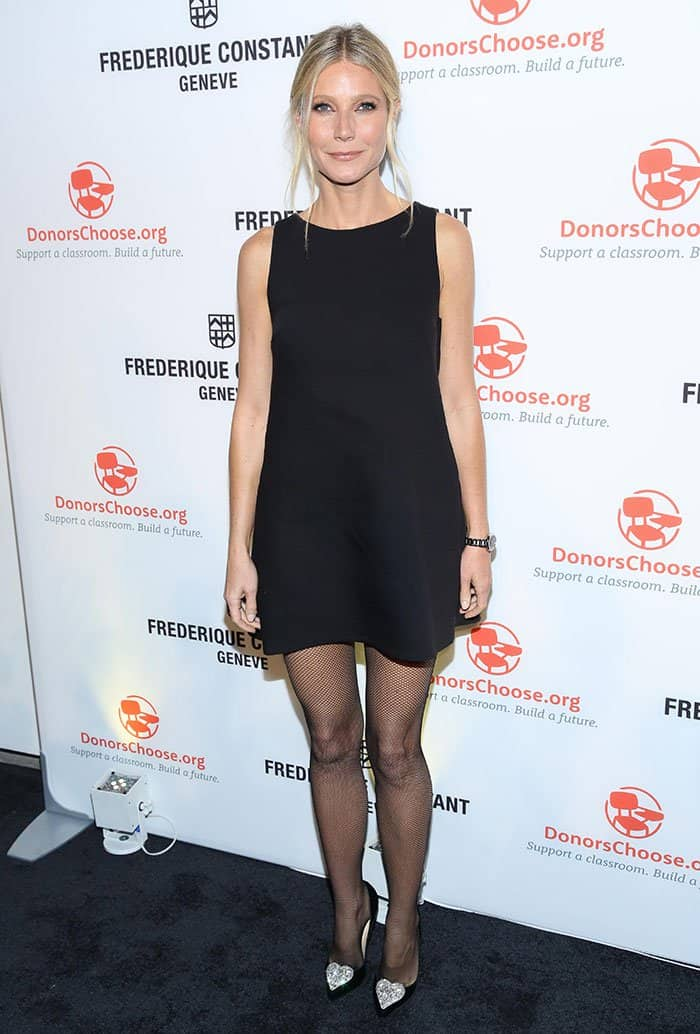 Gwyneth Paltrow attends Frederique Constant Horological Smartwatch launch at Spring Studios in New York City on November 2, 2016