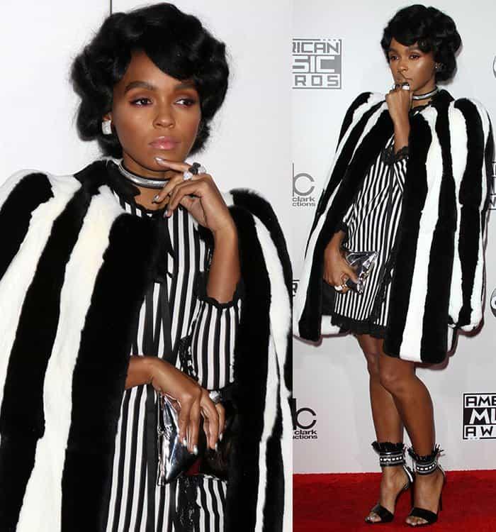 janelle-monae-marc-jacobs-black-white-stripe-coat-dress