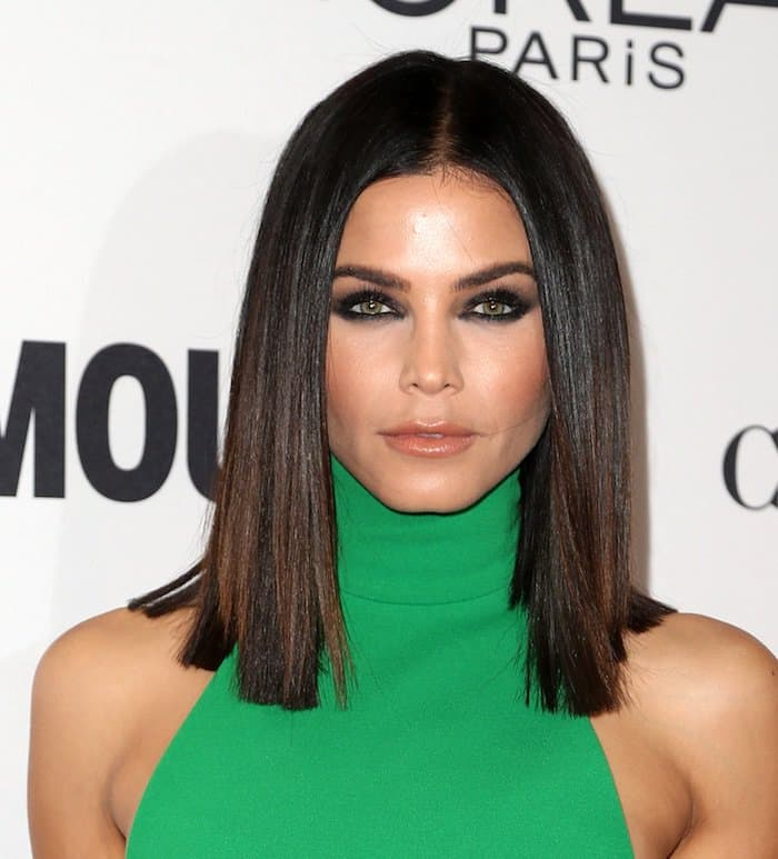 Jenna channels Cleopatra with her hair and makeup at the Glamour Women of the Year Awards