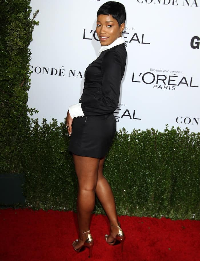 ShoeDazzle asked Keke Palmer to curate two special footwear collections for its members