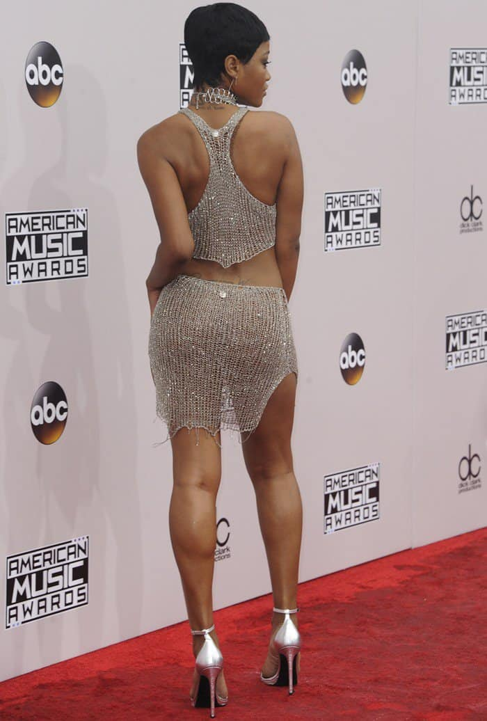 Keke Palmer at the 2016 American Music Awards held at the Microsoft Theater in Los Angeles on November 20, 2016