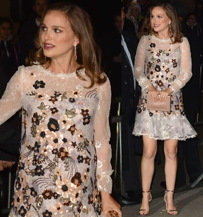 natalie-portman-rodarte-beaded-sequined-lace-chiffon-dress