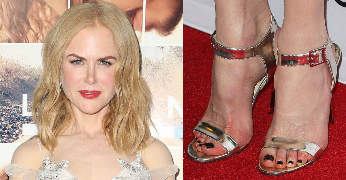 Nicole Kidman Ethereal in Jimmy Choo 'Truce' Sandals