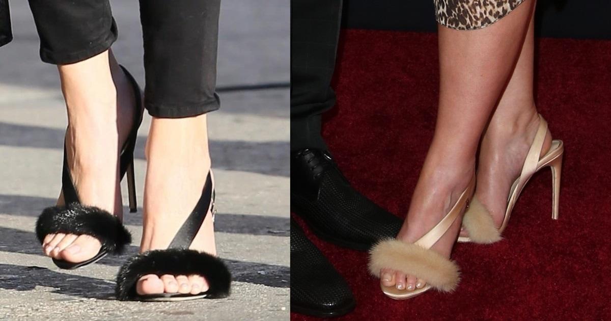Who Looks Best In Olgana Paris L Amazone Sandals Khloe Or