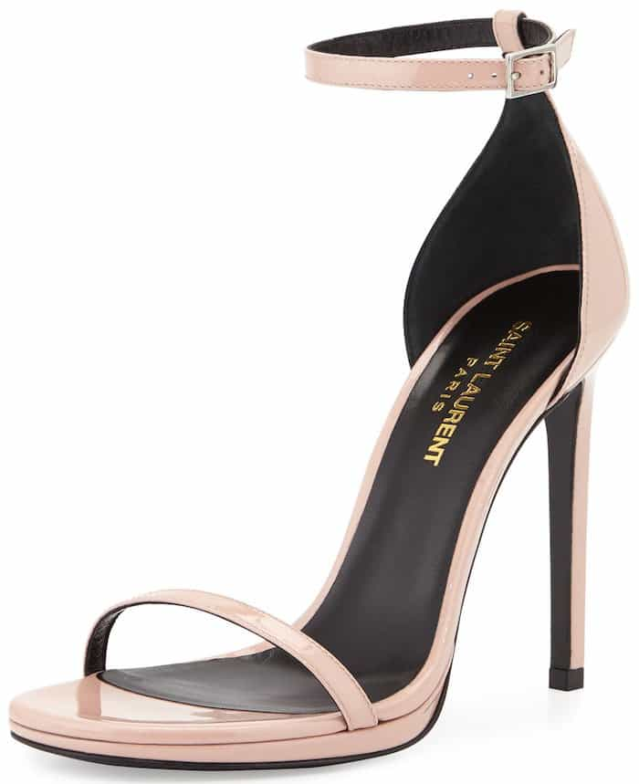 Saint Laurent Paris 'Jane' ankle-strap sandals