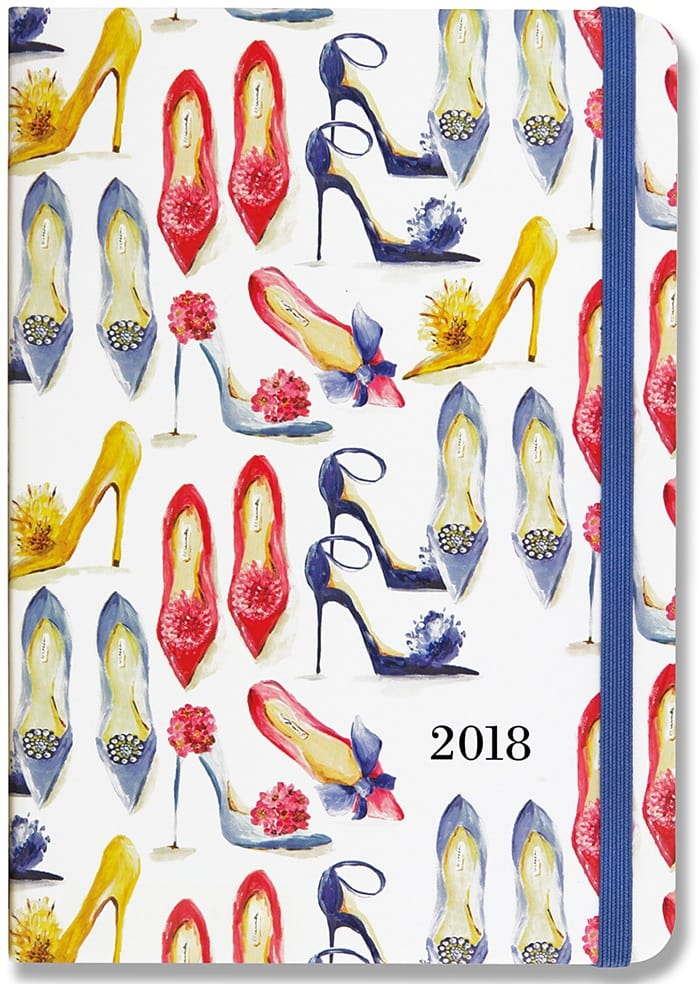 2018 Shoes Weekly Planner