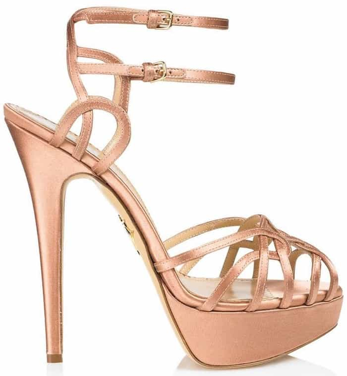 "Charlotte Olympia ""Ursula"" Platform Sandals"