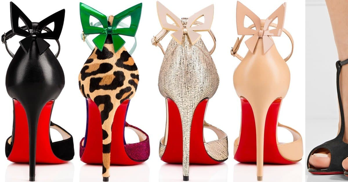 2bdaff78b49a Lingerie-Inspired  Aribak  Bow-Embellished T-Bar Sandals by Christian  Louboutin
