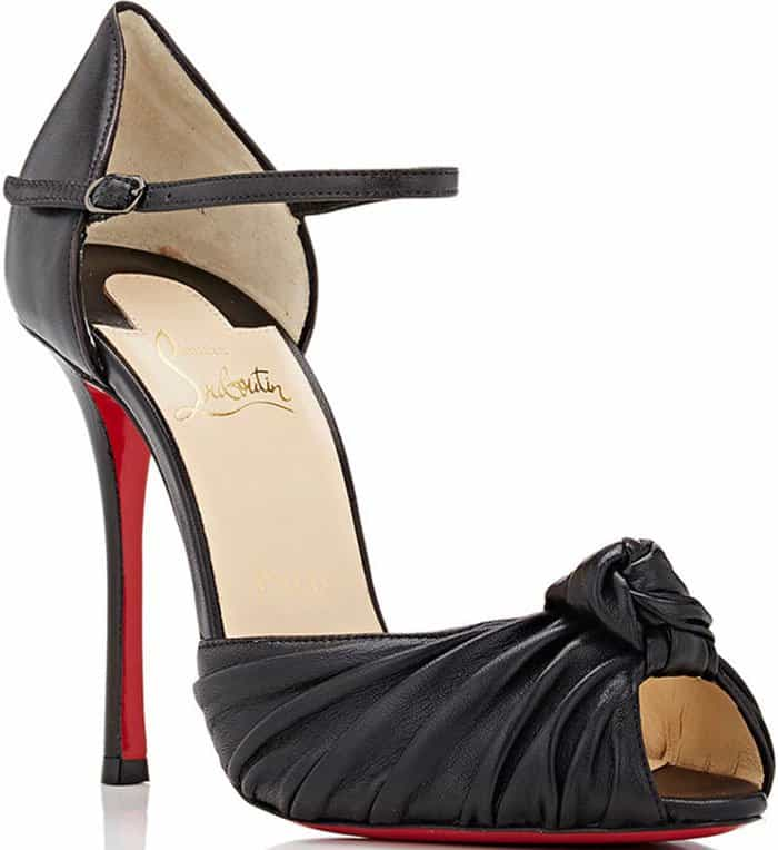 Christian Louboutin Marchavekel leather sandals