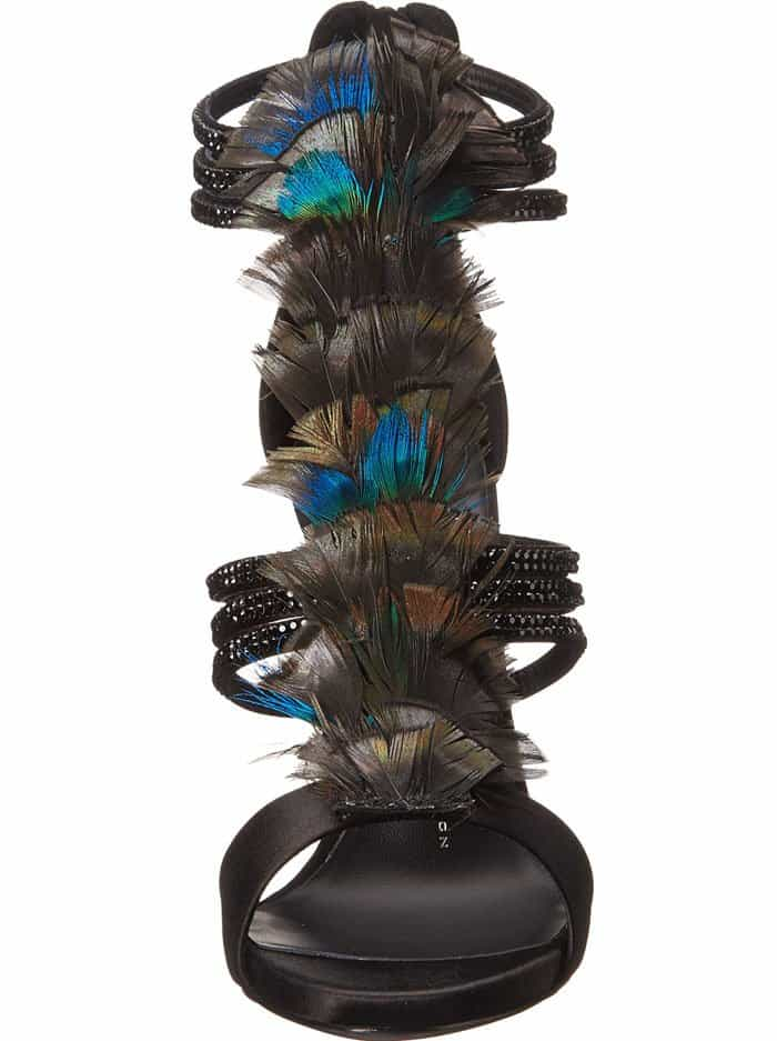 Giuseppe Zanotti Coline Feather Sandals