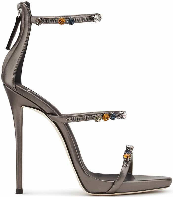 1a7b3be1c Harmony Sparkle Crystal-Embellished Sandals by Giuseppe Zanotti