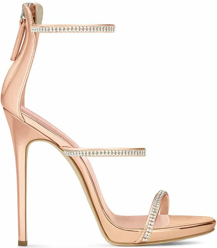 Giuseppe Zanotti 'Harmony Sparkle' Stiletto Sandals