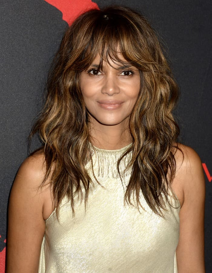 Halle Berry at the Revlon 'Love is On: Million Dollar Challenge' finale