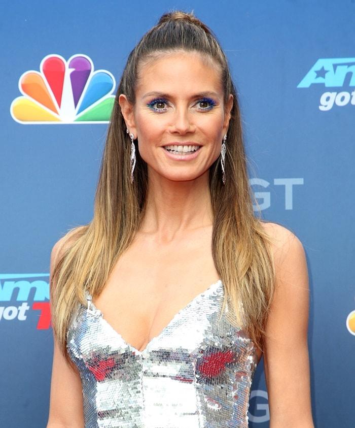Heidi Klum attendingAmerica's Got Talent: Season 13 Kickoff Celebration