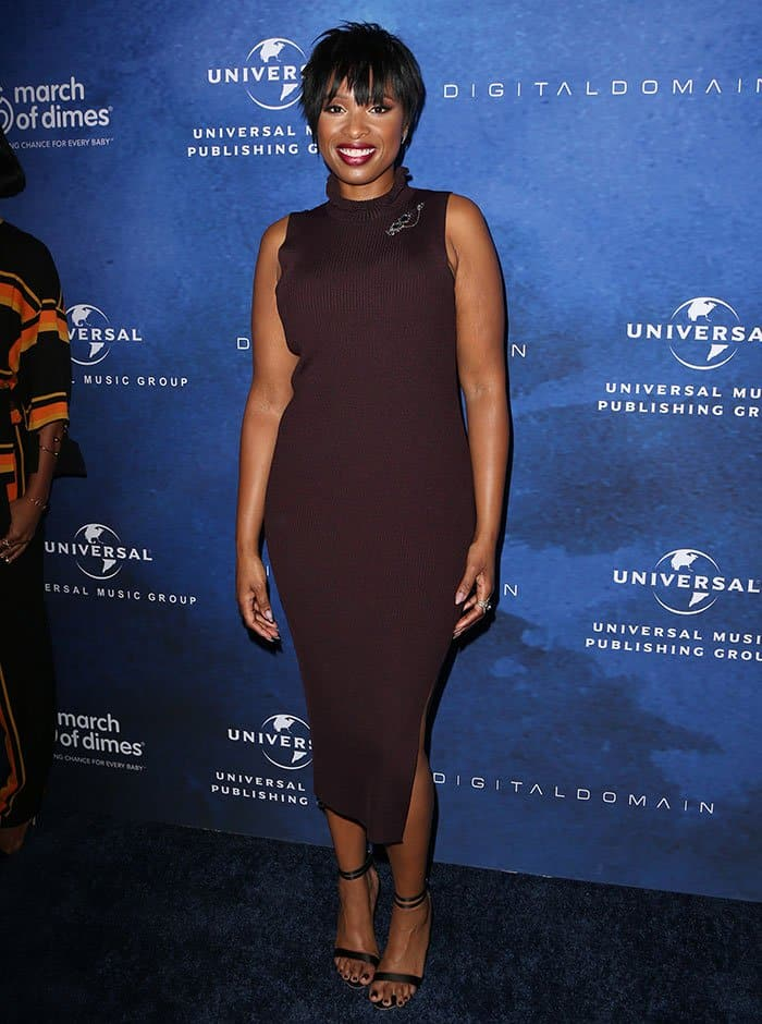Grammy and Oscar-winning recording artist Jennifer Hudson received yet another prestigious award at the 2016 Celebration of Babies: A Hollywood Luncheon