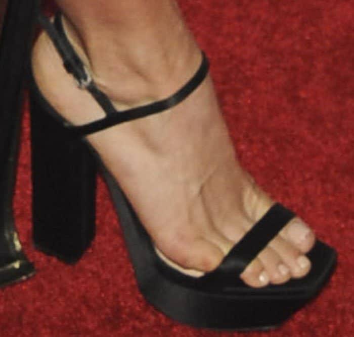 julianne-hough-trevor-live-satin-platform-sandals-2