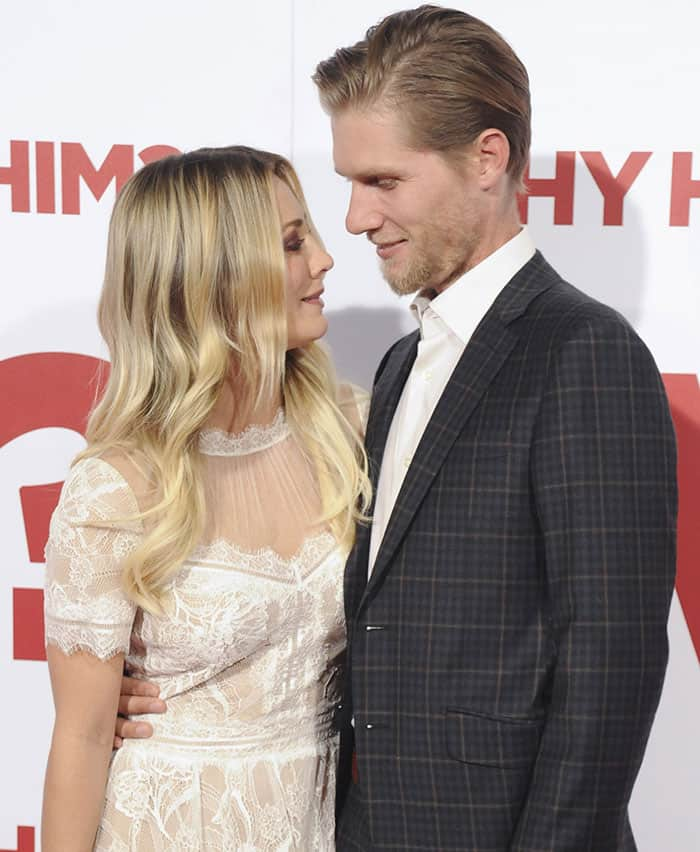 Kaley Cuoco and Karl Cook met at a horse show in California in March 2016