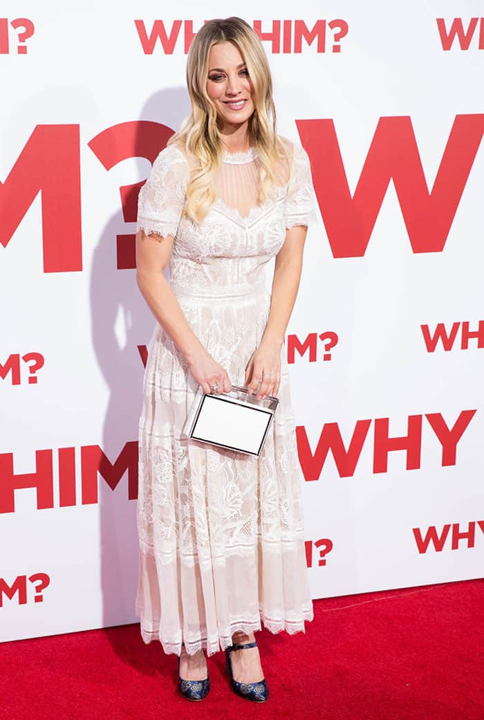 Kaley Cuoco never thought she'd get married again after her divorce from tennis player Ryan Sweeting
