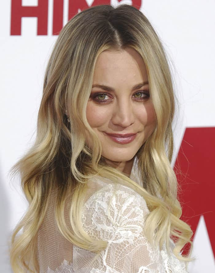 Kaley Cuoco is a natural blonde and has had blonde hair for most of her life