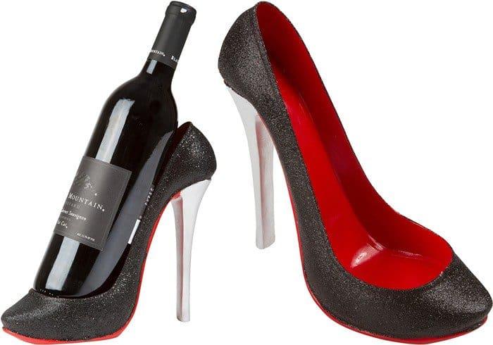 KitchInnovations High Heel Wine Bottle Holder