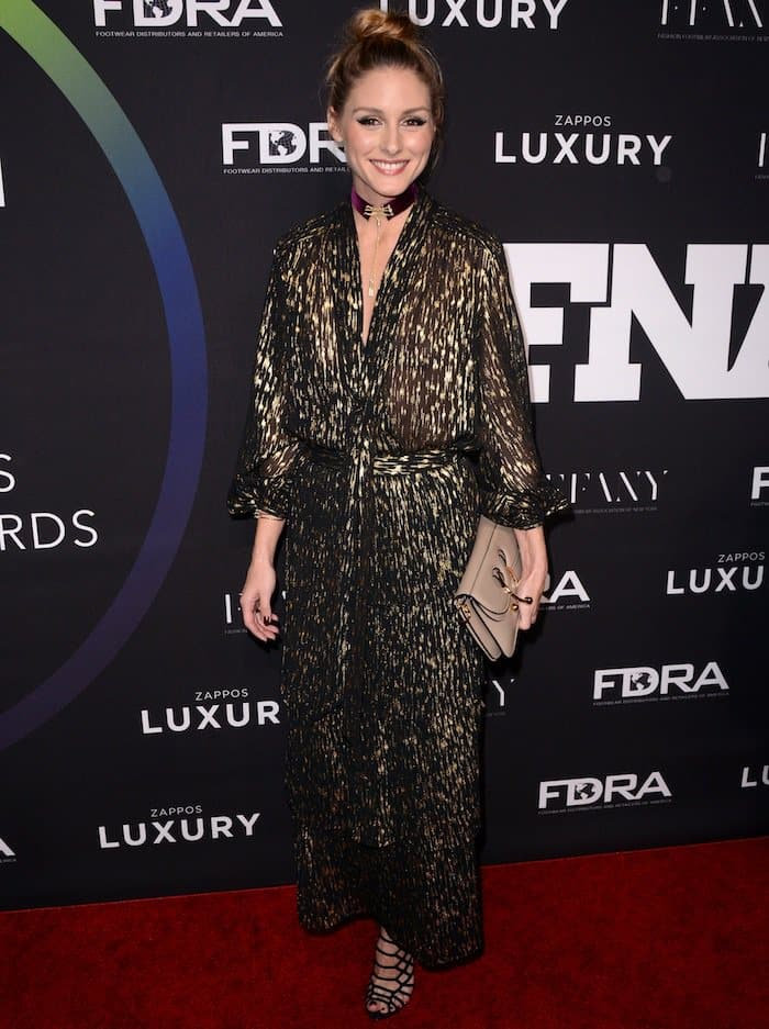 Olivia Palermo at the 30th annual Footwear News Achievement Awards