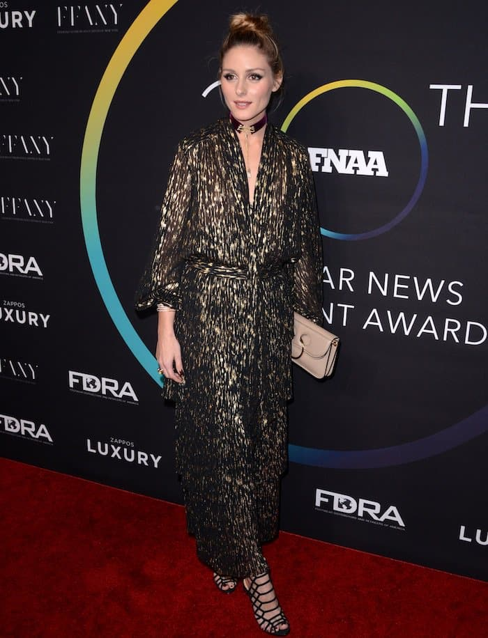 Olivia Palermo looked fantastic on the red carpet