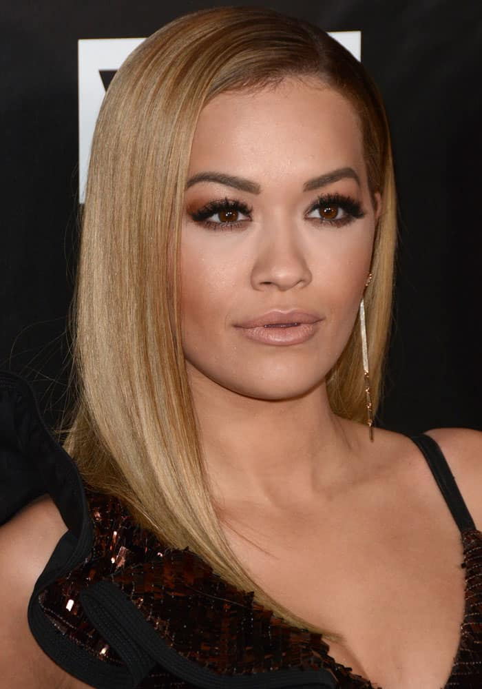 Rita Ora at the VH1 America's Next Top Model premiere party at Vandal, New York on December 9, 2016