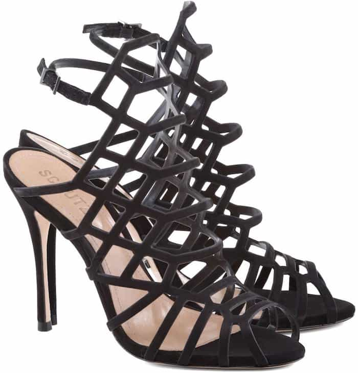 "Schutz ""Juliana"" Cage Sandals"