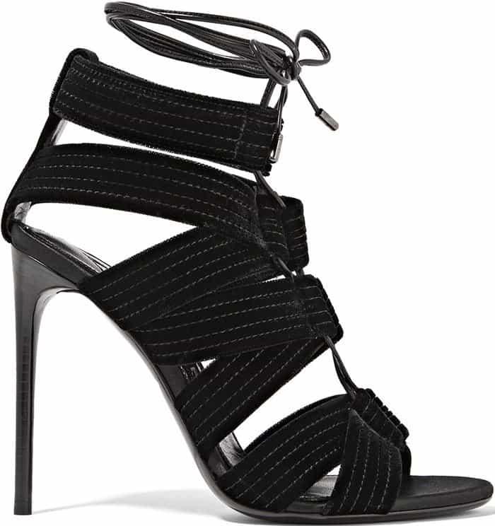 tom-ford-lace-up-leather-trimmed-velvet-sandals