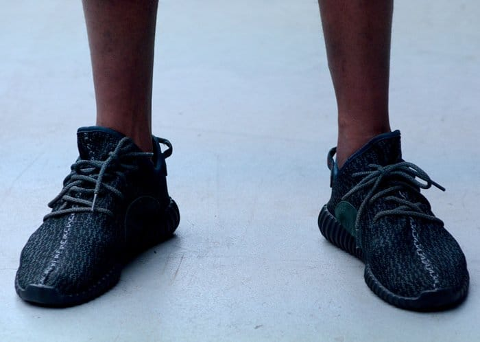 515e511fbe531 adidas Originals x Kanye West YEEZY SEASON 1 at the Mercedes Benz Fashion  Week in New