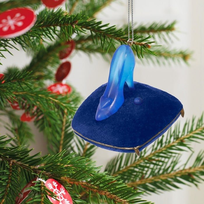 Cinderella Fit for a Princess Mini Christmas Ornament with Light