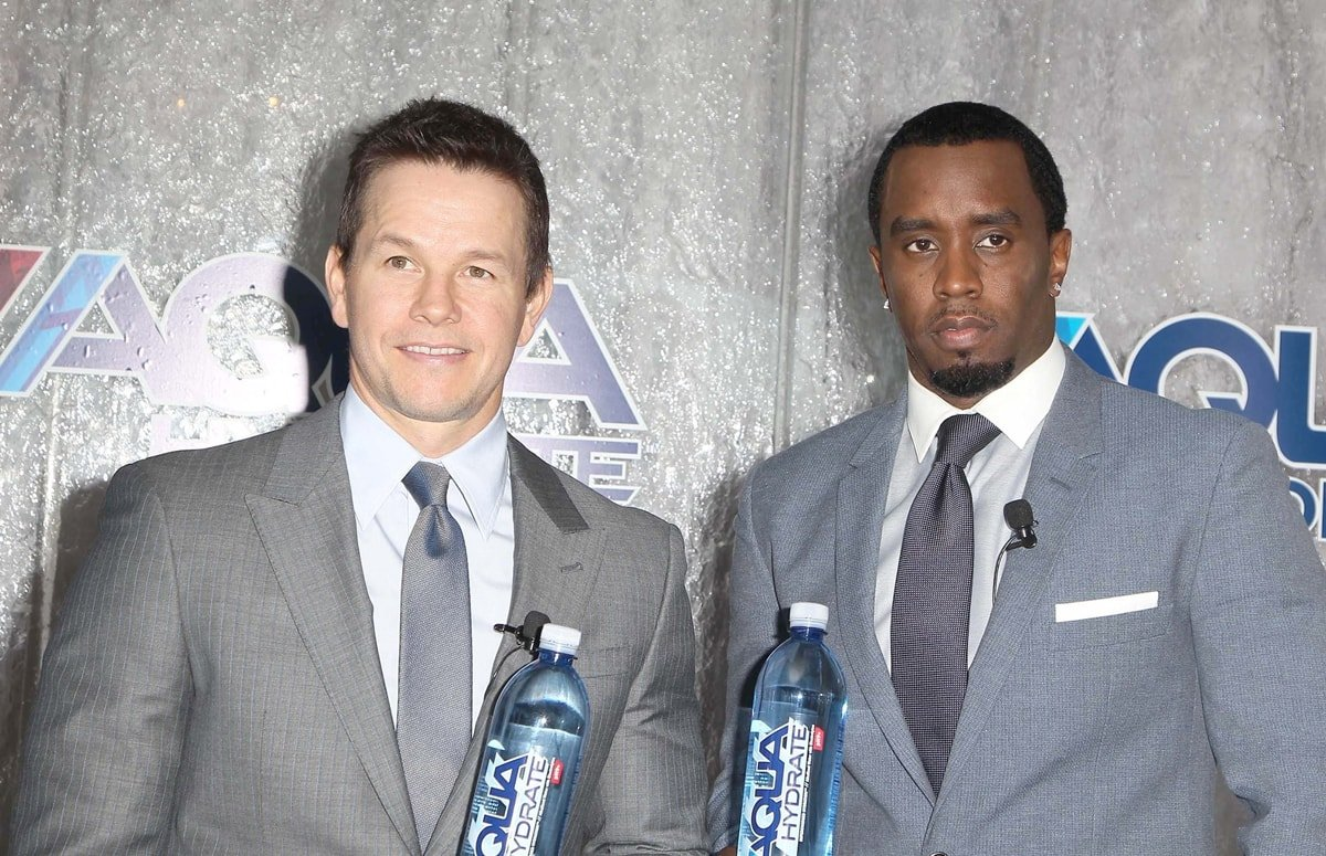 """Mark Wahlberg and Sean """"Diddy"""" Combs are active investors in AQUAhydrate"""