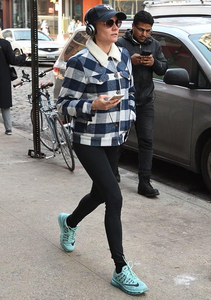 Diane Kruger in a Levi's jacket
