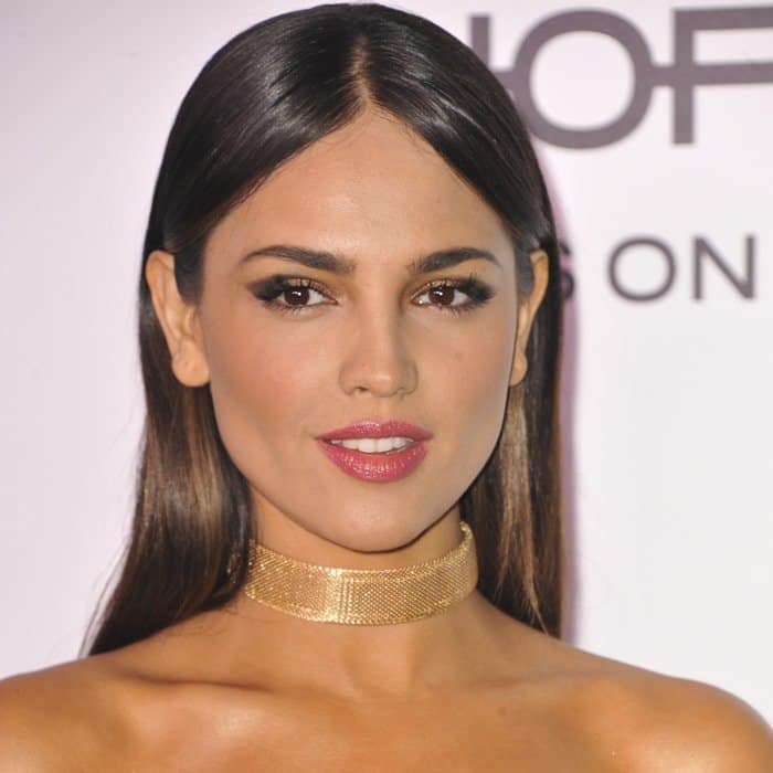 Eiza Gonzalez attends Harper's BAZAAR celebration of the 150 Most Fashionable Women presented by TUMI in partnership with American Express, La Perla and Hearts On Fire at Sunset Tower Hotel on January 27, 2017 in West Hollywood, California