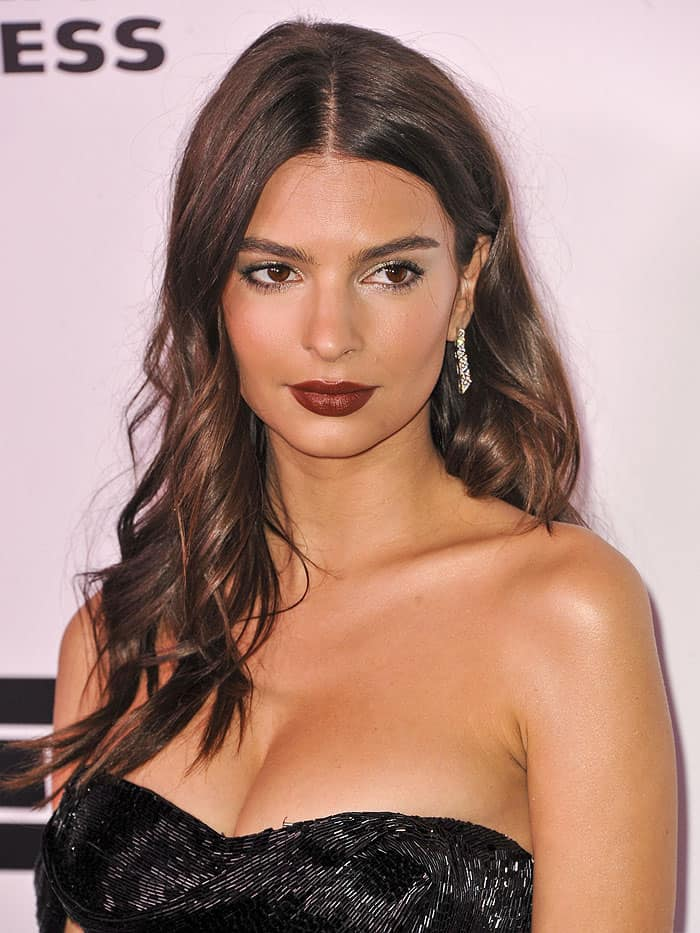 Emily Ratajkowski claims people don't want to work with her because her 'boobs are too big'