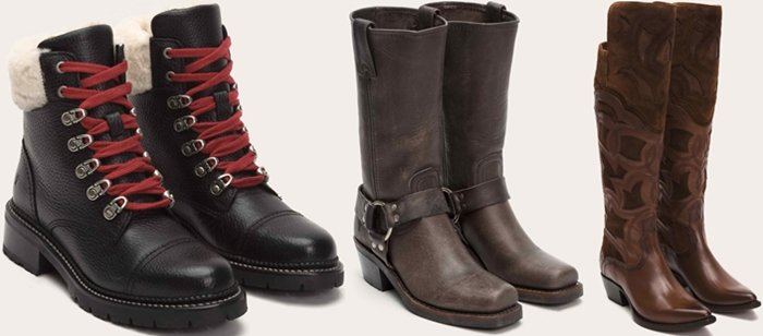 Counterfeiters usually copy the best-selling Frye boots