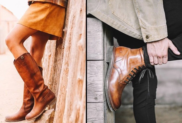 Frye boots for men and women
