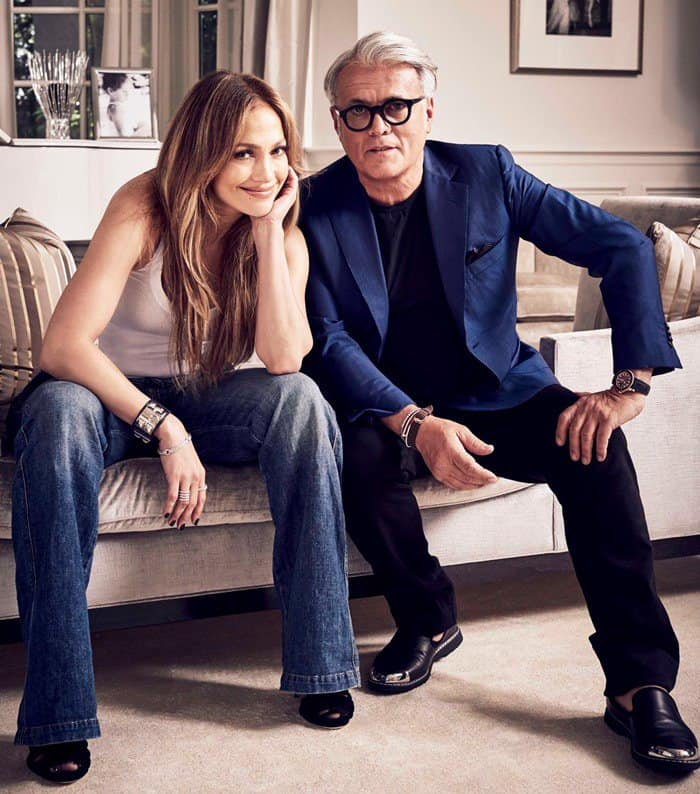 Jennifer Lopez and footwear designer Giuseppe Zanotti have teamed up on an exclusive new capsule shoe collection