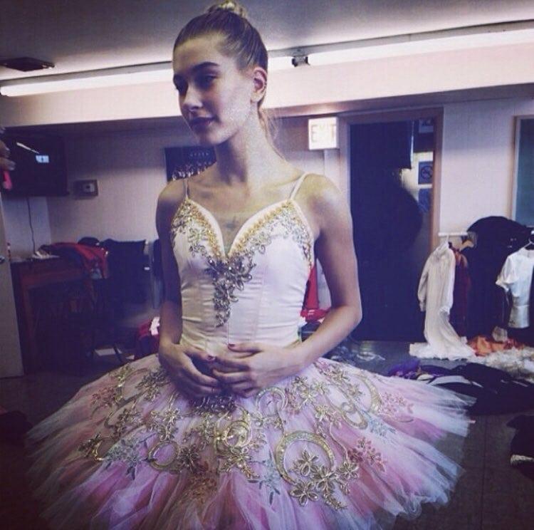 Hailey Rhode Baldwin Bieber trained as a ballet dancer